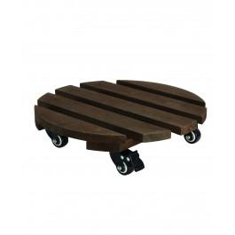 תחתית עץ טרולי לעציץ ק.40 ס