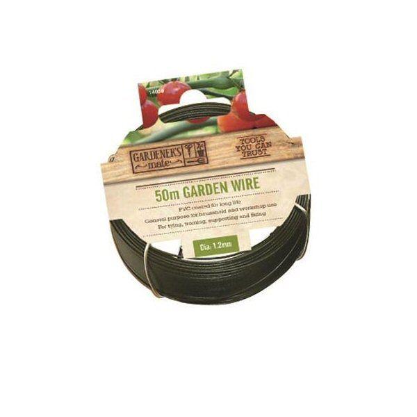 חוט ברזל 1.2 ממ * 50 מ' מצופה ירוק